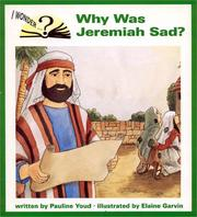 Cover of: Why was Jeremiah sad?