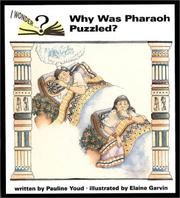 Cover of: Why was Pharaoh puzzled?
