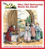 Cover of: Why did Nehemiah work so hard?
