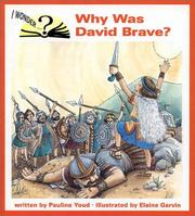 Cover of: Why was David brave?