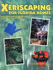 Cover of: Xeriscaping for Florida homes