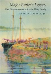Cover of: Major Butler's Legacy