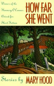 Cover of: How Far She Went (Flannery O'Connor Award for Short Fiction)