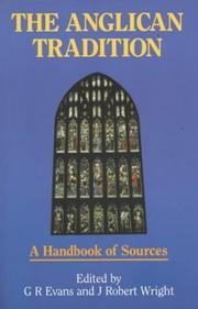 Cover of: The Anglican Tradition: A Handbook of Sources