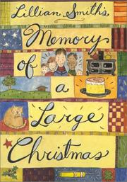 Cover of: Memory of a large Christmas