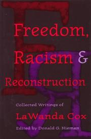 Cover of: Freedom, racism, and Reconstruction