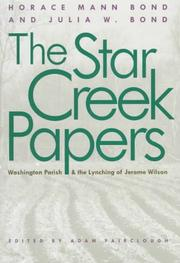 Cover of: The Star Creek papers