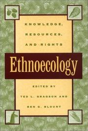 Cover of: Ethnoecology |
