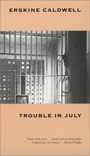 Cover of: Trouble in July