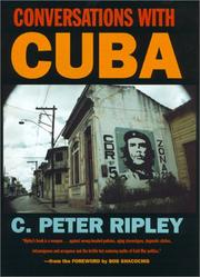 Cover of: Conversations with Cuba | C. Peter Ripley