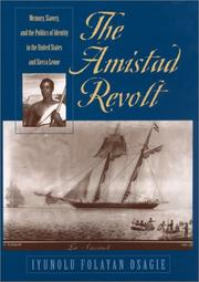 Cover of: The Amistad revolt
