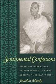 Cover of: Sentimental confessions | Joycelyn Moody