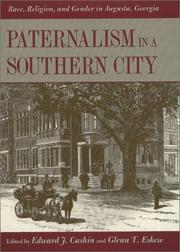 Cover of: Paternalism in a southern city