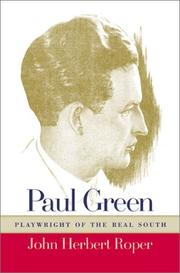 Paul Green by John Herbert Roper