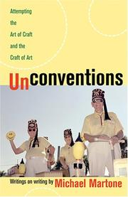Cover of: Unconventions