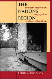 The nation's region by Leigh Anne Duck