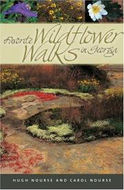 Cover of: Favorite wildflower walks in Georgia