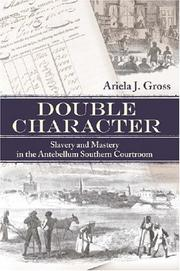 Cover of: Double Character | Ariela J. Gross