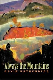 Cover of: Always the mountains
