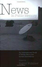 Cover of: News in public memory |