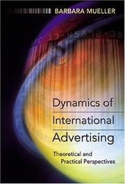 Cover of: Dynamics of International Advertising