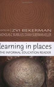 Cover of: Learning in places |