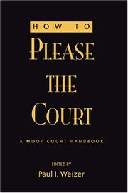Cover of: How to Please the Court