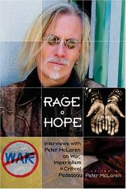 Cover of: Rage and hope
