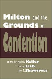 Cover of: Milton and the grounds of contention