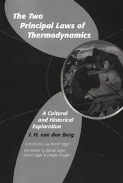 Cover of: The two principal laws of thermodynamics