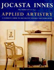 Cover of: Applied artistry