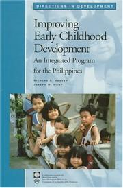 Cover of: Improving early childhood development | Richard Heaver