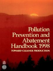 Cover of: Pollution prevention and abatement handbook, 1998 |
