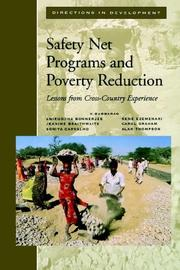 Cover of: Safety net programs and poverty reduction |