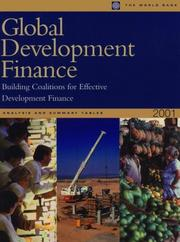 Cover of: Global Development Finance 2001