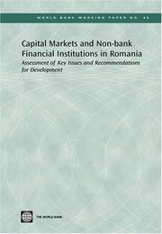 Cover of: Capital Markets and Non-bank Financial Institutions in Romania | Ramin Shojai