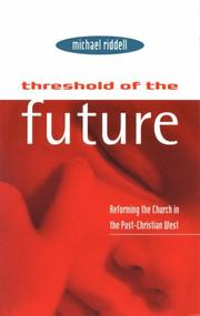 Cover of: Threshold of the future