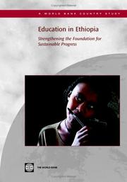 Cover of: Education in Ethiopia
