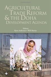 Cover of: Agricultural trade reform and the Doha development agenda |