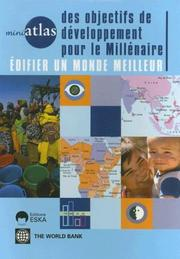 Cover of: Miniatlas of Millennium Development Goals