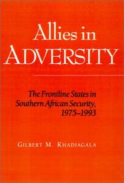 Cover of: Allies in adversity