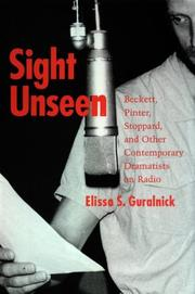 Sight unseen by Elissa S. Guralnick