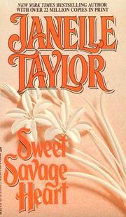 Cover of: SWEET SAVAGE HEART