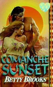 Cover of: Comanche Sunset | Betty Brooks