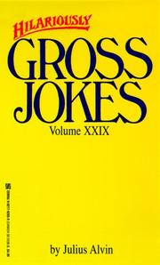 Cover of: Hilariously gross jokes