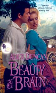 Cover of: Beauty and the brain | Alice Duncan