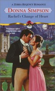 Cover of: Rachel's change of heart