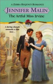 Cover of: The artful Miss Irvine | Jennifer Malin