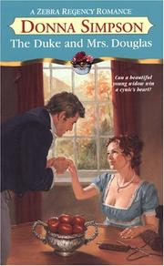 Cover of: The Duke and Mrs. Douglas