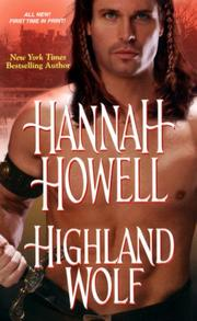 Cover of: Highland Wolf | Hannah Howell